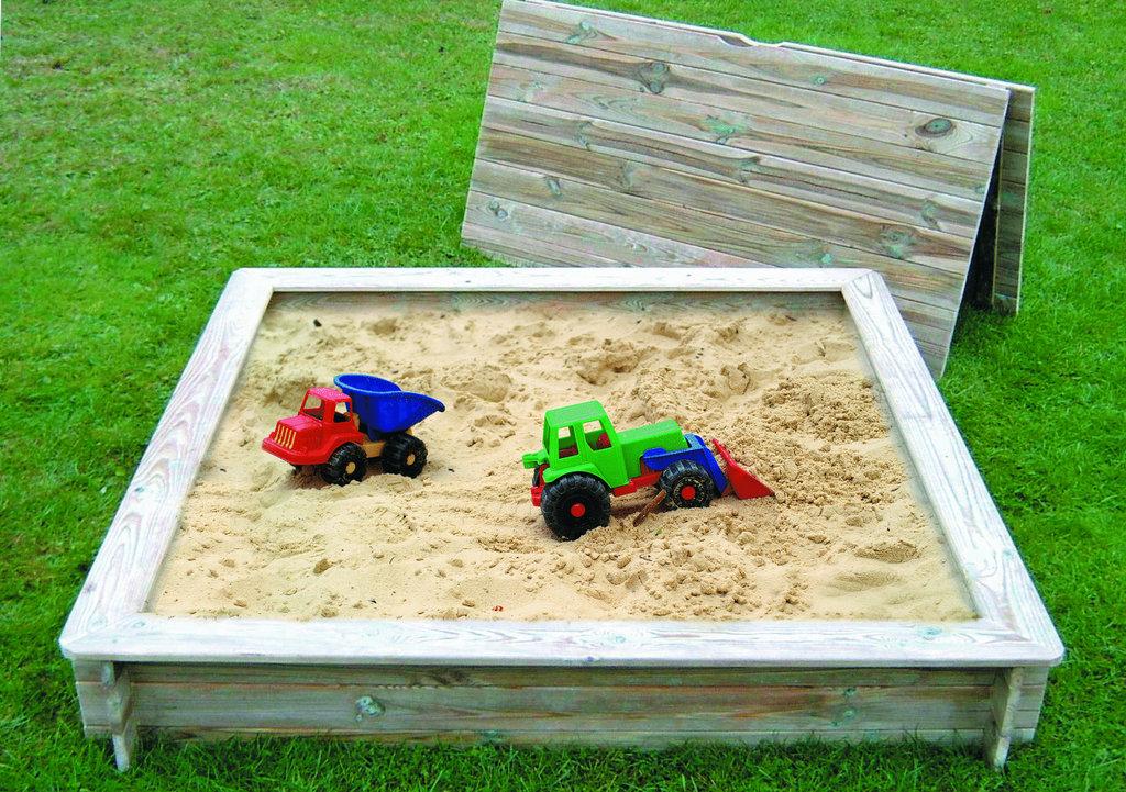 "Sandkasten-Holzabdeckung ""Tommy"""