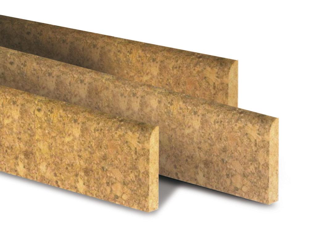 Fußbodenleisten aus Kork,