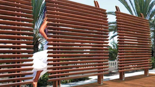 "Sichtschutz ""Dubai"" aus Eukalyptus - 100 % FSC®-zertifiziert"