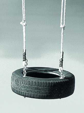 Reifen-Schaukel
