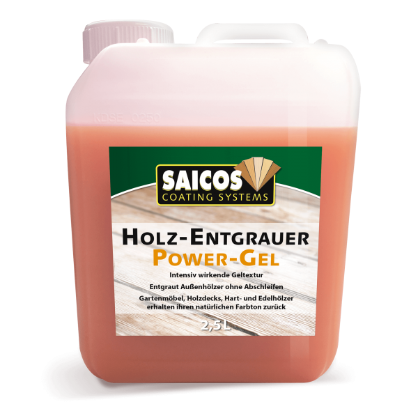 SAICOS Holz-Entgrauer Power-Gel 2,5L