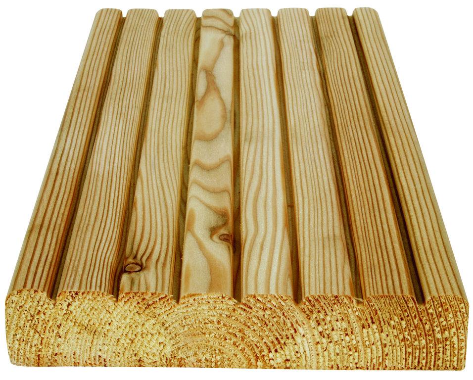 Sibirische Lärche – Terassendielen 28 x 145 mm; 4m Länge