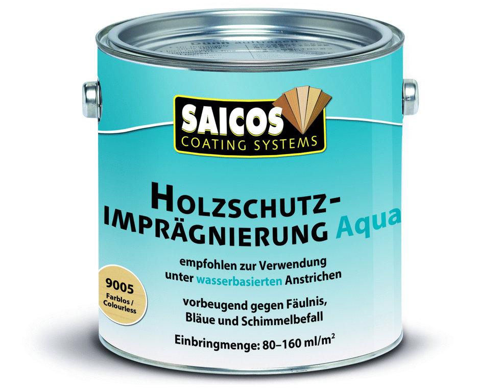 Holzschutz-Imprägnierung 9005 Aqua 0,75l