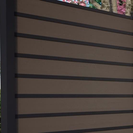 Zierleisten und Fenster-Elemente für cWPC Zaun Kingston