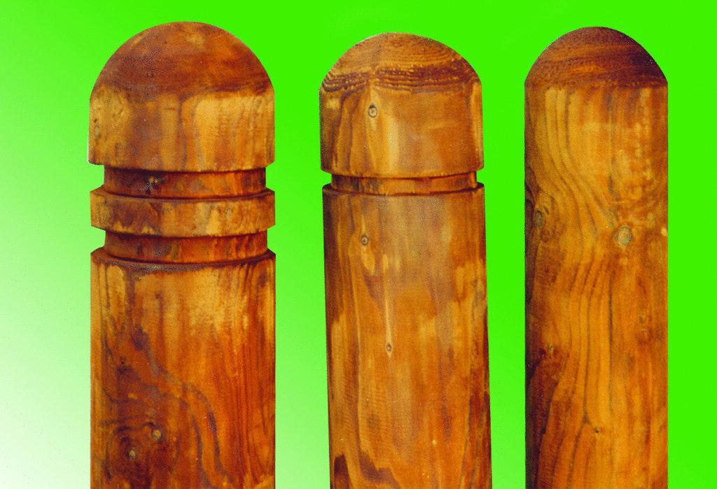 Holzpoller 1,50m; 16cm Durchmesser