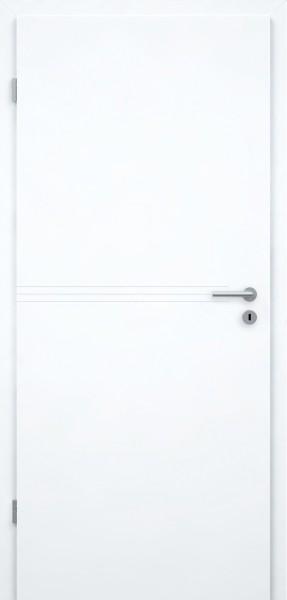 Designtür Typ Juliana GA4 - Hellweißlack