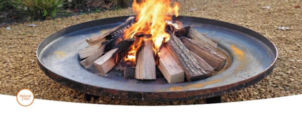 BORC Feuerschale Cortenstahl