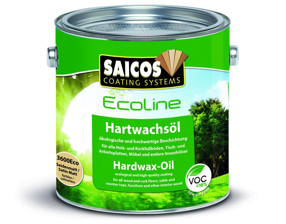 SAICOS Ecoline Hartwachsöl Seidenmatt farblos