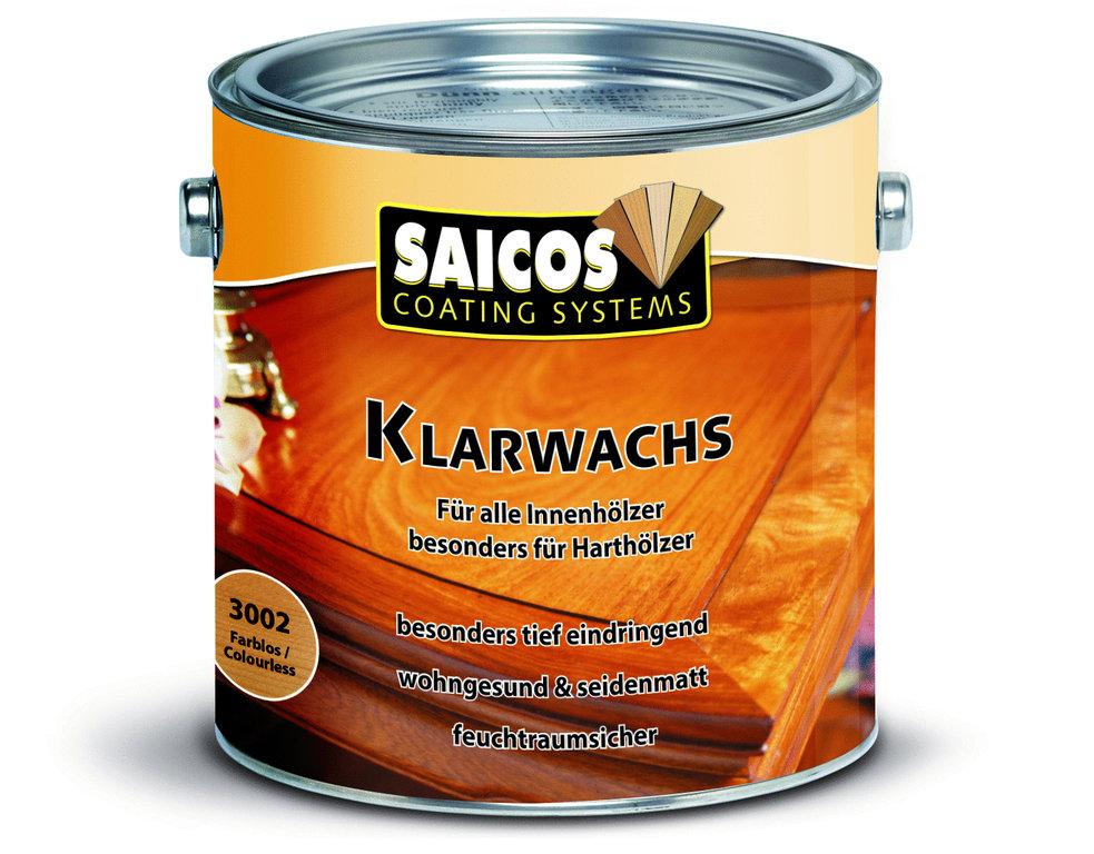 SAICO Klarwachs - Farblos seidenmatt