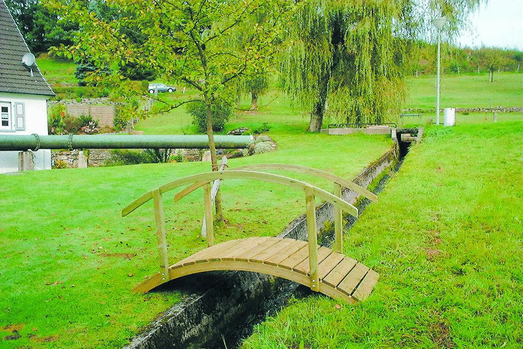Teichbrücke Föhr