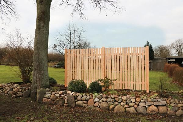 Gartensichtschutz Manoa - verschiedene Holzarten