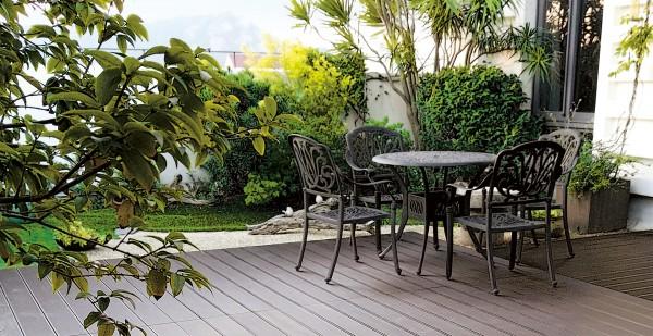 Bambus-Terrassendiele CoBAM® Mokka