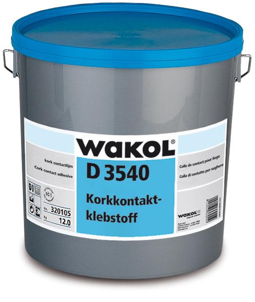 WAKOL D3540, Kork-Kontaktkleber