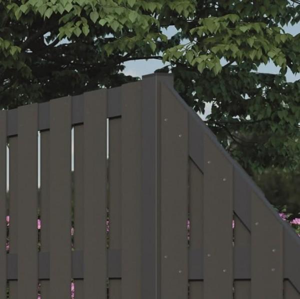 Aluminium-Pfosten für WPC-Zaun Kansas City