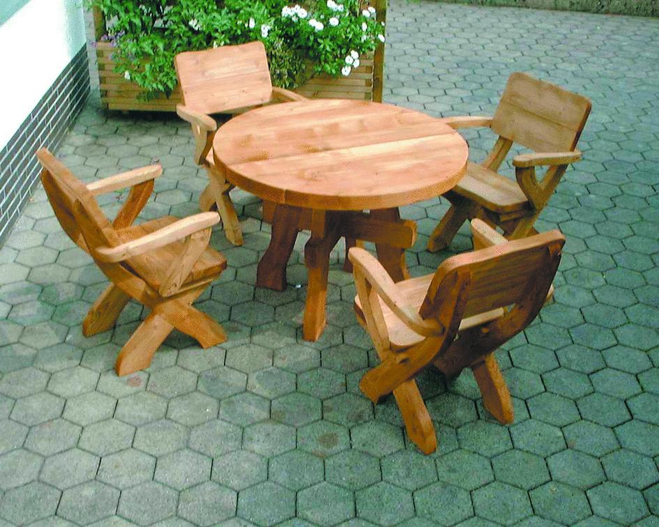 Sitzgruppe Mondschein Tisch