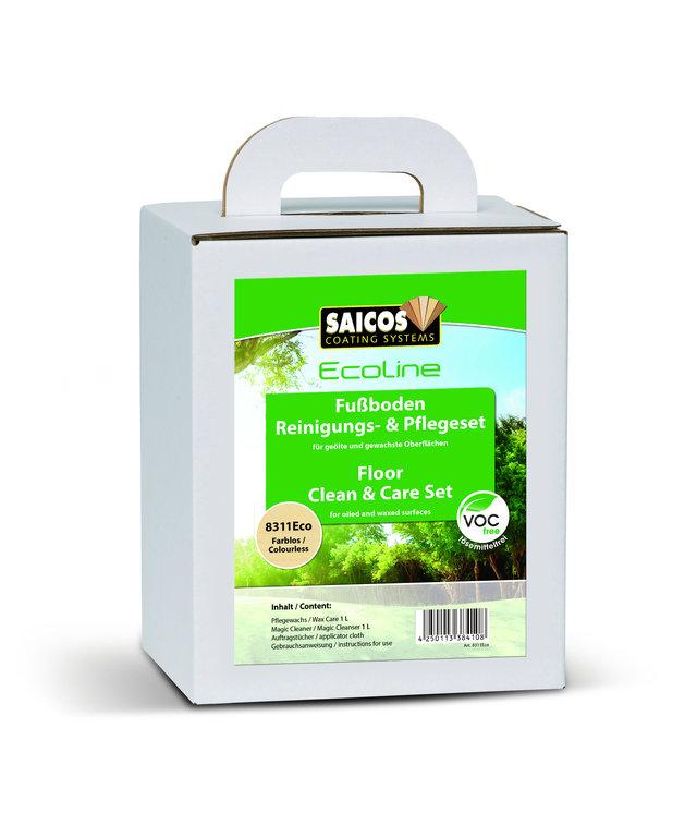 SAICOS Ecoline Fußboden Reinigungs- & Pflegeset