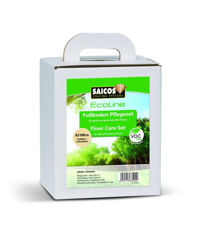 SAICOS Ecoline Fußboden-Pflegeset