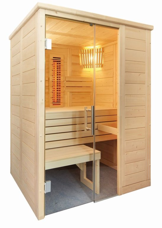 SENTIOTEC Sauna-Infra-Kombi Alaska Mini Infra+