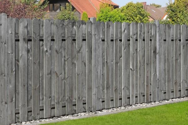 Bohlen-Zaun Natura