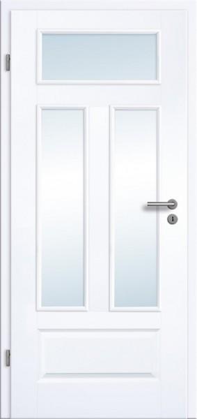 Klassische Stiltüren Typ Juliette 4GAD 3LA - Lichtausschnitt