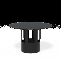 Forno Gartenkamin - Zubehör Regenschutz-Ofenrohr 154 mm