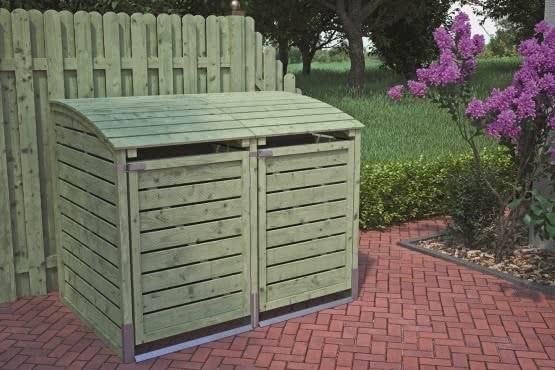 Müllbox Duo oder Trio