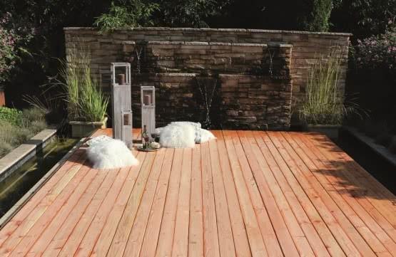 Terrassendiele Belags-Profil Lärche Natur
