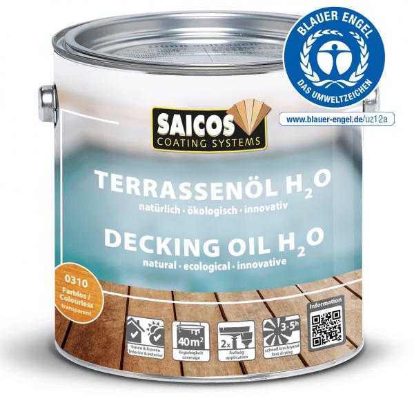 SAICOS Terrassenöl H²O 2,5l